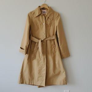 Niccolini Nicolette Union Made Vintage Trench Coat